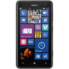 eBay WoW: Nokia Lumia 625 (11,9 cm 4,7 Display, 5 Megapixel Kamera, 8 GB, Windows 8, black B-Ware zu 99,90 Euro inkl. Versand