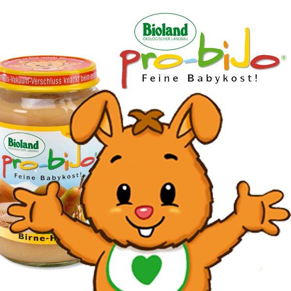 Bioland Babygläschen von pro-biJo für nur 0,39€ (kostenloser Versand)