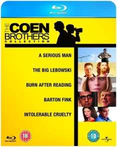 The Coen Brothers Collection (Blu-ray) 5 Filme für 11.42€ @Zavvi.com