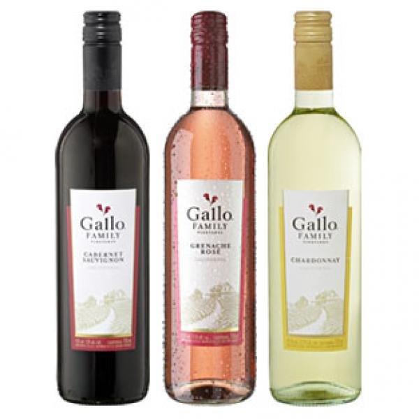 Gallo !? kalifornische Weine für 3,33 € bei Kaufland