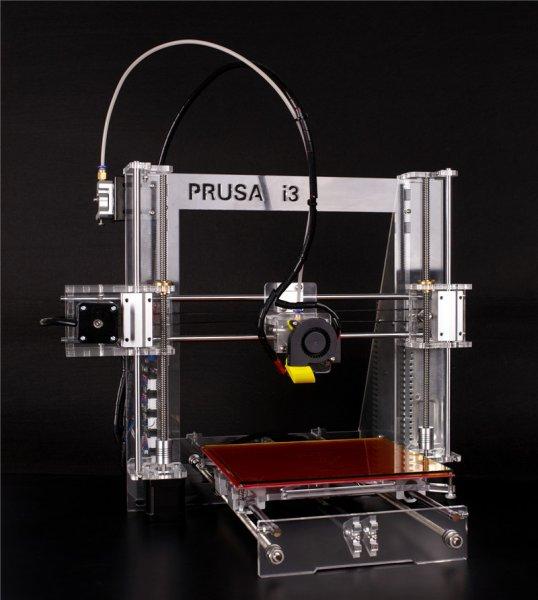 [Aliexpress] Prusa i3 3D-Drucker 20x20x18cm Vol. Bausatz mit LCD und 2x Filament
