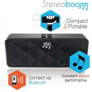 Stereoboomm 500 Compact Wireless Stereo Lautsprecher - Anthrazit 35,90€ inkl. versand