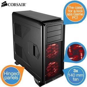 Corsair Graphite 730T – schwarzes Tower-PC-Gehäuse 78,90@ inkl. Versand