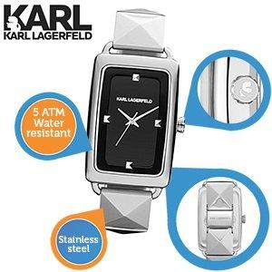 Karl Lagerfeld Karl Kourbe KL1803 Damenuhr / 30 % Günstiger als Idealo Preis