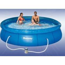 Bestway Quick Up Swimmingpool inkl. Pumpe Ø366x91cm