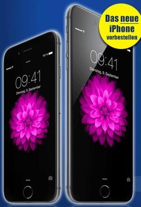 IPhone 6 im Knaller Vertrag O2 XL 10GB Datenvomlumen Allnetflat