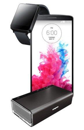 LG G3 16GB, G Watch und Creative Sound Blaster Roar mit Complete Comfort S