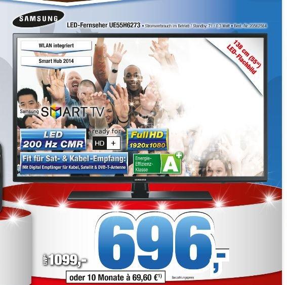 Samsung UE55H6273 für 696,- @Expert Bening
