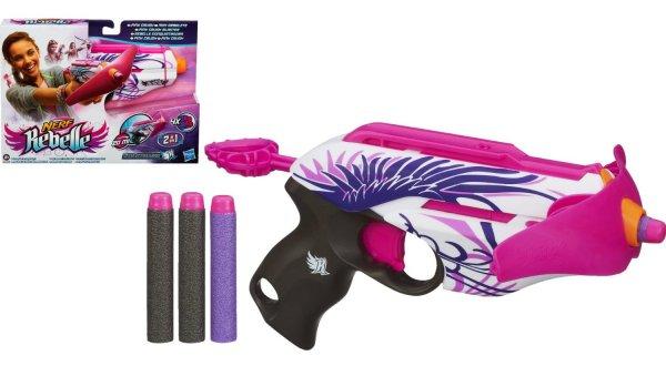 Nerf Rebelle ( Hasbro A4739E27 ) - Pink Crush Mini-Armbrust 6,22 € / Idealo ab 14,89 €