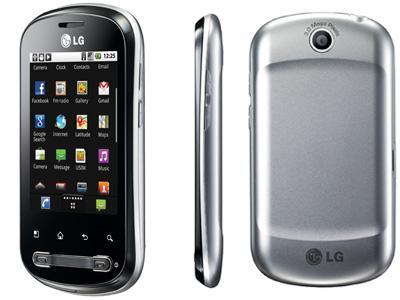 LG P350 Optimus ME (Android 2.2) für 89.50€ @ dailydeal