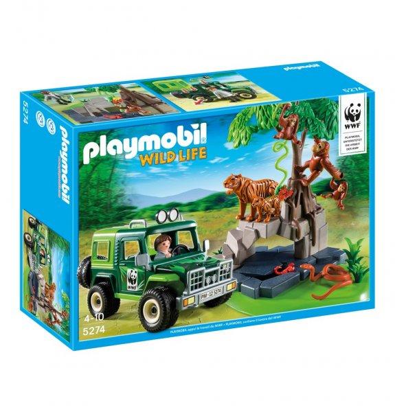 @Galeria.-Kaufhof.de: PLAYMOBIL ® Angebote ... z.B.: WWF Geländewagen (5274) ab €14,99