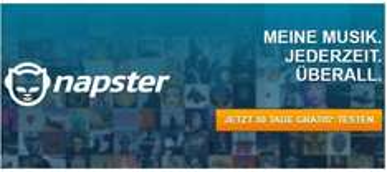 [Giga.de] Napster 30 Tage lang kostenlos testen: Musik-Flatrate mit 25 Mio. Songs frei Haus