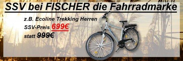 FISCHER Ecoline Trekking Herren - 250W - 36V - UVP 999€ für 699€