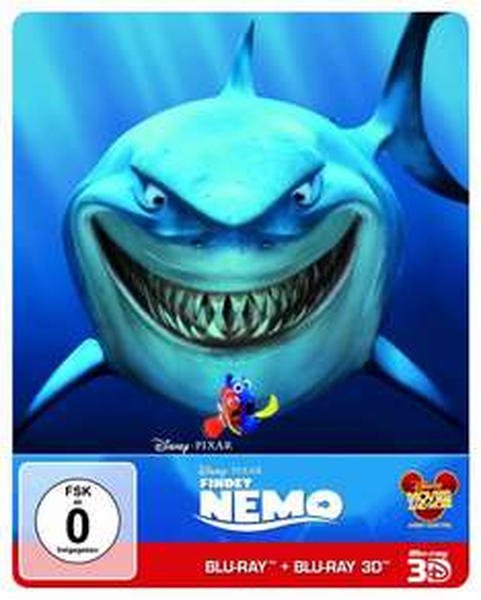 Findet Nemo 3D Blu-Ray (Real 3D & 2D Steelbook 2 Discs) für 15,99 inkl. VSK