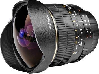 Walimex Pro 8mm Fish-eye Objektiv 319€ @Amazon