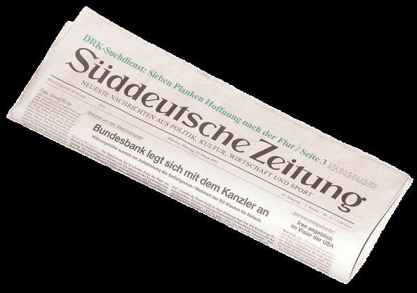 [Lokal - Landshut] Süddeutsche Zeitung für Lau ( Sichart, Karstadt)