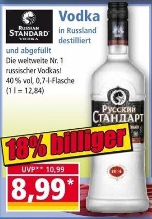 [Norma][Bundesweit] Russian Standard 0.7 Liter ab 15.09