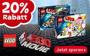"""20% auf alle LEGO Movie-Artikel, z.B. Lego 70816 Bennys Raumschiff 79,99€ (Idealo ~95€) [Toys""""R""""us]"""
