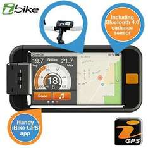 iBike GPS + mit Bluetooth 4.0 + Trittfrequenzsensor  für iPhone 5/5S/4S / 35,90 € inkl Versand