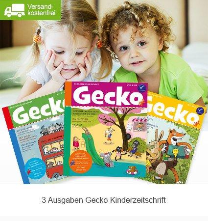 Gecko Kinderzeitschrift