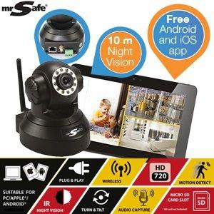 Mal wieder was fürs Gäste-WC? Mr.Safe Wireless IP- Kamera HD für nur 59,95€ (ibood.com)