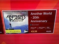Another World für 3,99€ bzw. 3,59€ PS4 PS3 PS Vita crossbuy