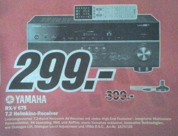 [Lokal Media Markt Dortmund] Yamaha RX-V 675