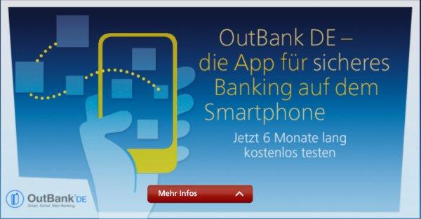 iOS: OutBank DE 6 Monate gratis für o2-Kunden