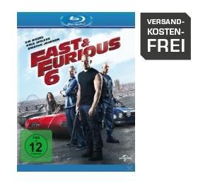 Fast & Furious 6 [Blu-ray] für 5,99€ inkl. Versand @Saturn