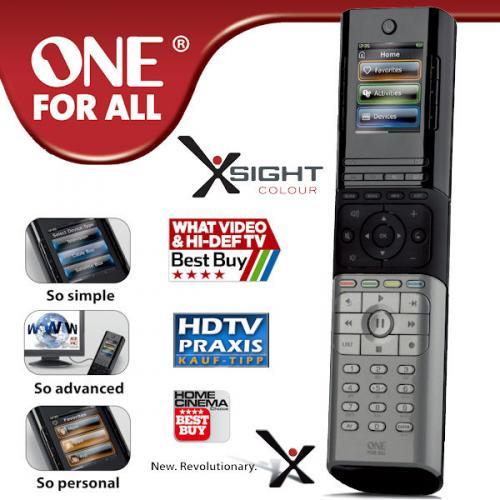 One for all Xsight Colour 8602 Universal Fernbedienung für 39,95 € bei iBOOD