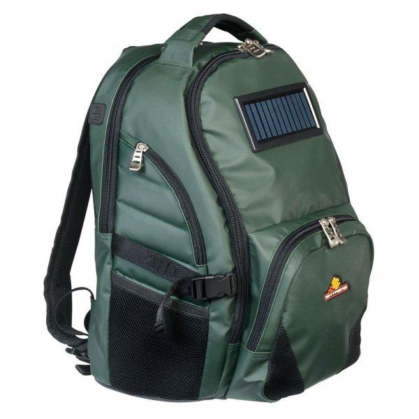 JRC Extreme Range Camera- Laptop Backpack (Rucksack) mit Solarpanel zum Laden