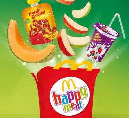 Heute zu jedem Happy Meal eine Apfeltüte gratis
