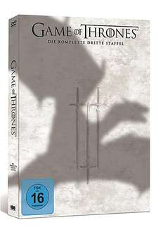 Game of Thrones 3. Staffel DVD für 21€ bei amazon mit Prime