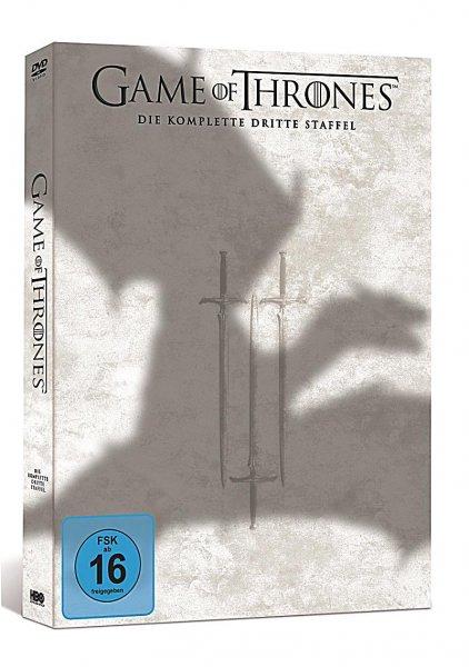 Game of Thrones 3. Staffel DVD für 21€ bei amazon mit Prime
