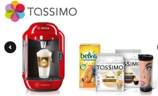 [GROUPON] Tassimo Vivy + Thermobecher + 2 Tdics + belVita Kekse , 9 % qipu + 20€ Gutschein