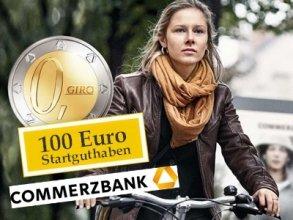 Commerzbank.de: Nur am 27.09.14 und 28.09.14 - 100 Euro Startguthaben bei Girokontoeröffnung
