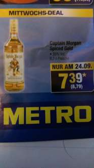 Captain Morgan Spiced Gold 0,7 bei Metro