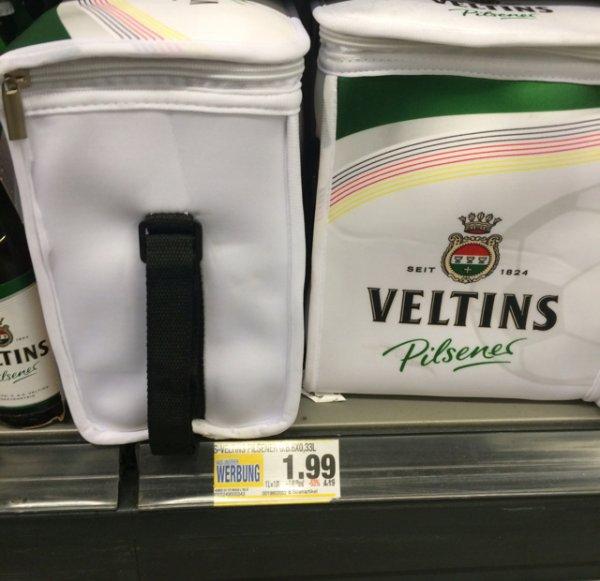 [Lokal] Edeka: Sixpack Veltins 0,33 inkl. Kühltasche