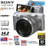 SONY NEX-5 KS E 18-55mm F3.5-5.6 OSS Zoom Lens Kit für 379 €  LOCAL Pro Markt
