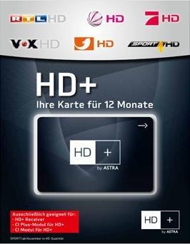 HD+ SMARTCARD FÜR ASTRA HD+ SATELLITENEMPFANG