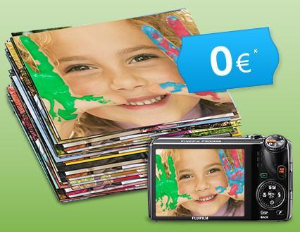 100 Fotos im 10er Format von Fuji für 2,10€ + 3,50€ Cashback @ Qipu