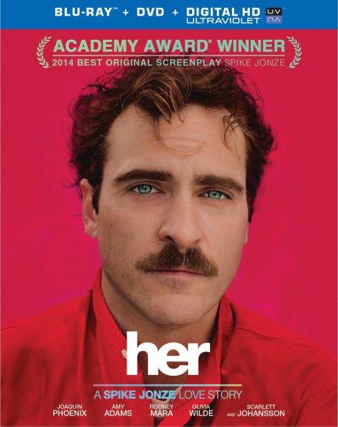 HER [Blu-Ray] für 8,97€ bzw. [DVD] für 6,97€ bei Amazon.de