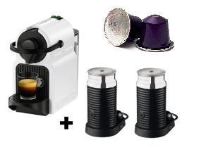 [MM] KRUPS Nespresso Inissia XN 1011 + 2 Aeroccino Milchaufschäumer + 10 Stangen Kapseln durch Nespresso-Aktion!
