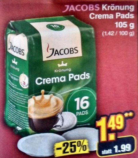 [Netto] Jacobs Krönung Crema Pads