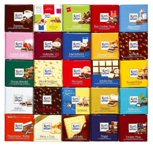 [Netto Marken-Discount] Ritter Sport Schokolade 0,59€ (+ 0,30€ Reebate Cashback)