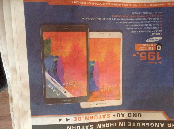 [Bremen] Samsung Galaxy Tab Pro 8.4