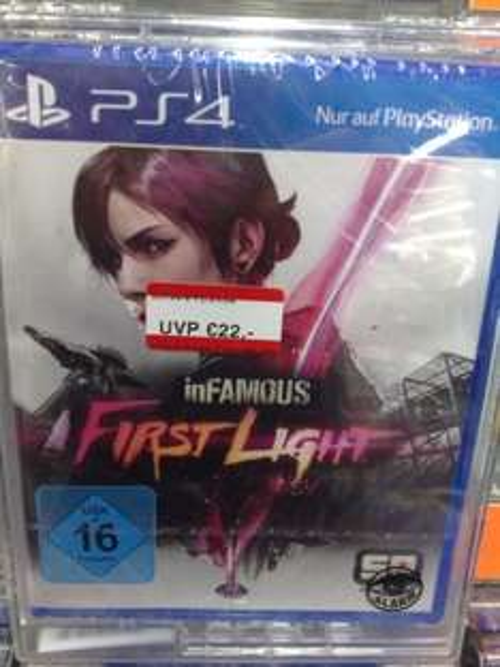 PS4 inFamous First Light beim Mediamarkt Köln-Marsdorf