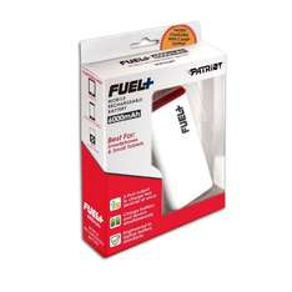 PATRIOT Fuel+ 6000mAh | Power-Bank für Smartphone und Tablet für 29,99€ zzgl. Versand @ZackZack.de (Idealo: 34,03€ zzgl. Versand)