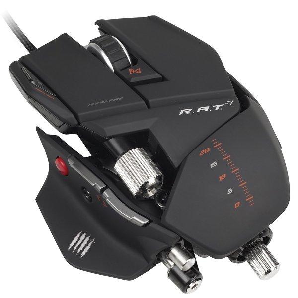 [Amazon] [Blitzangebot] Mad Catz R.A.T. 7 Maus für 59,99€ (Idealo: 70€)