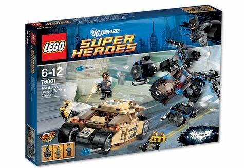 Lego DC Super Heroes Batman vs. Bane: Verfolgungsjagd im Tumbler